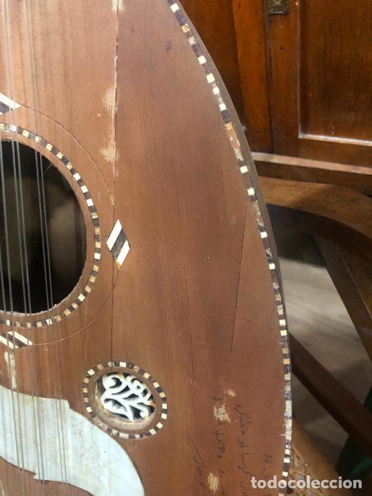 Instrumentos musicales: ANTIGUO INSTRUMENTO BAILKA ARABE TURCO - MEDIDA 80 CM - Foto 9 - 218089113