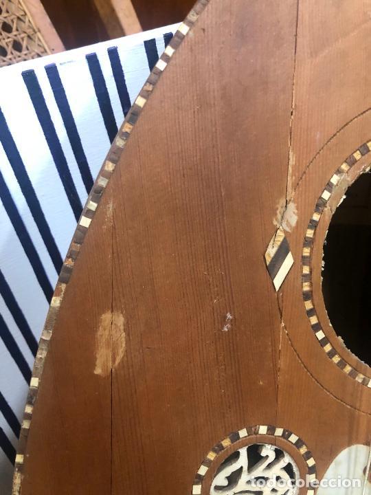 Instrumentos musicales: ANTIGUO INSTRUMENTO BAILKA ARABE TURCO - MEDIDA 80 CM - Foto 11 - 218089113