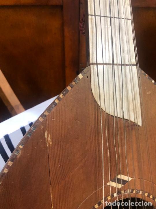 Instrumentos musicales: ANTIGUO INSTRUMENTO BAILKA ARABE TURCO - MEDIDA 80 CM - Foto 13 - 218089113