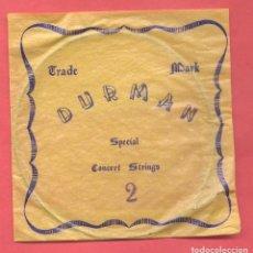 Instrumentos musicales: SOBRE CON CUERDA Nº 2 DURMAN SPECIAL, VER FOTOS. Lote 218265838