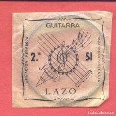 Instrumentos musicales: CUERDA PARA GUITARRA 2ª SI LAZO EN SU SOBRE ORIGINAL, VER FOTOS. Lote 218269746