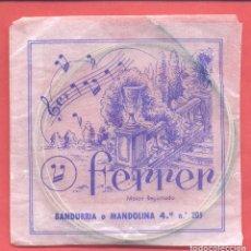 Instrumentos musicales: CUERDA PARA BANDURRIA O MANDOLINA, 4ª Nº 205 , FERRER , EN SU SOBRE ORIGINAL, VER FOTOS. Lote 218271917