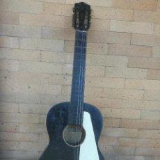 Instrumentos musicales: ANTIGUA GUITARRA ESPAÑOLA HIJOS DE VICENTE TATAY VALENCIA. FLAMENCO. MUY RARA. PARA RESTAURAR. Lote 218340368