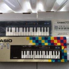 Instrumentos Musicais: PIANO CASIO PT-1 COMO NUEVO EN SU CAJA CON CORCHO PLASTICO Y MANUAL OK KREATEN JAPON JAPAN. Lote 218440623