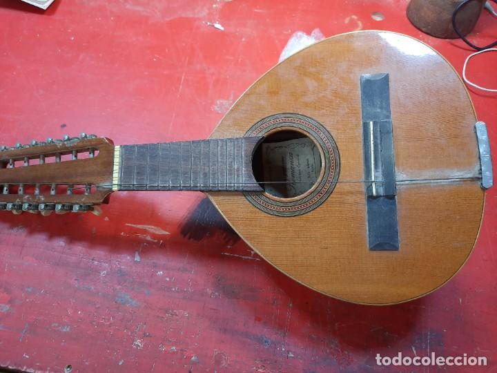 BANDURRIA, ROMANZA, TURÍS, VALENCIA. (Música - Instrumentos Musicales - Cuerda Antiguos)