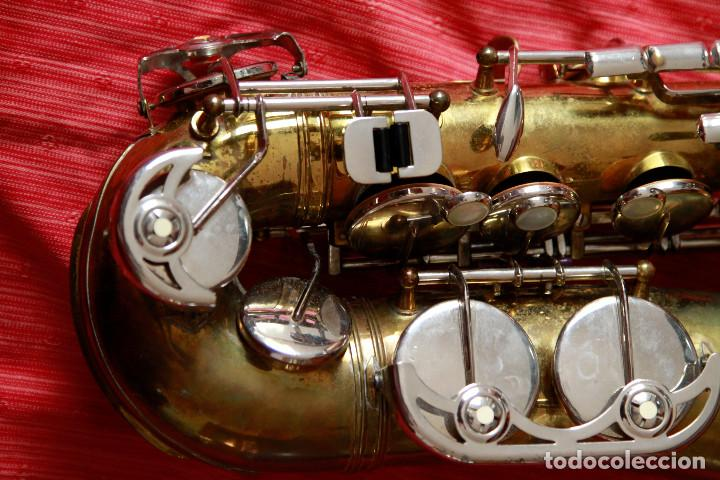 Instrumentos musicales: SAXOFON ALTO WELTKLAN - Foto 2 - 218561132