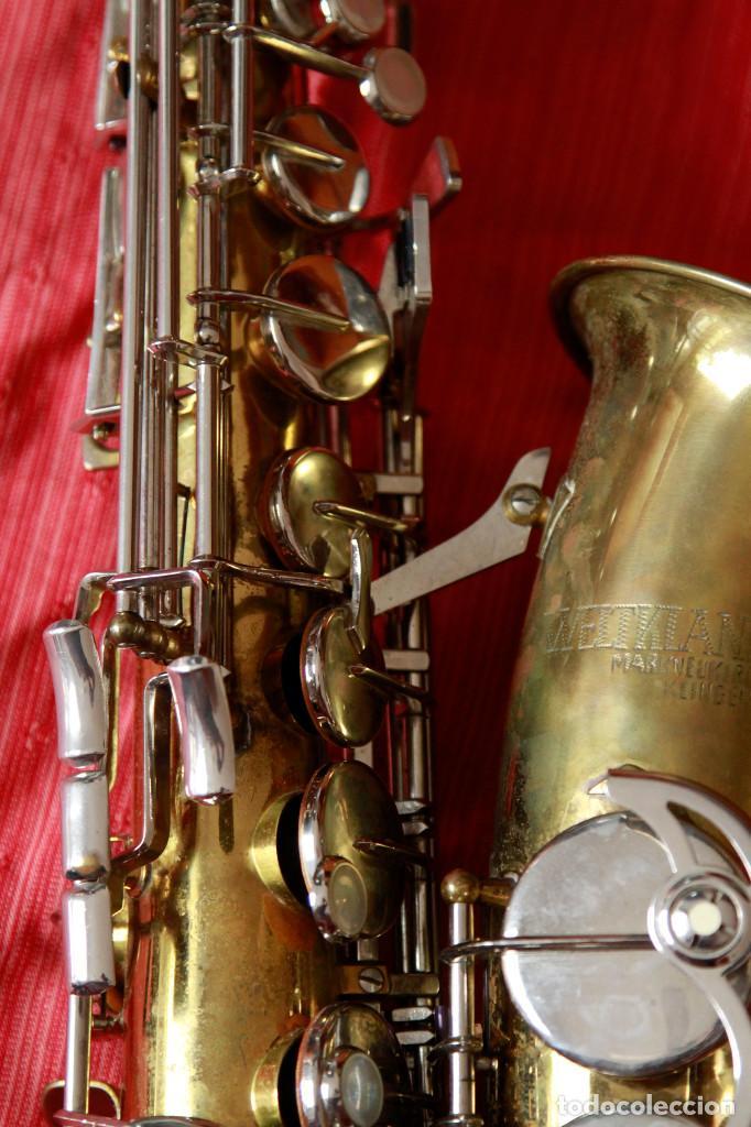 Instrumentos musicales: SAXOFON ALTO WELTKLAN - Foto 3 - 218561132