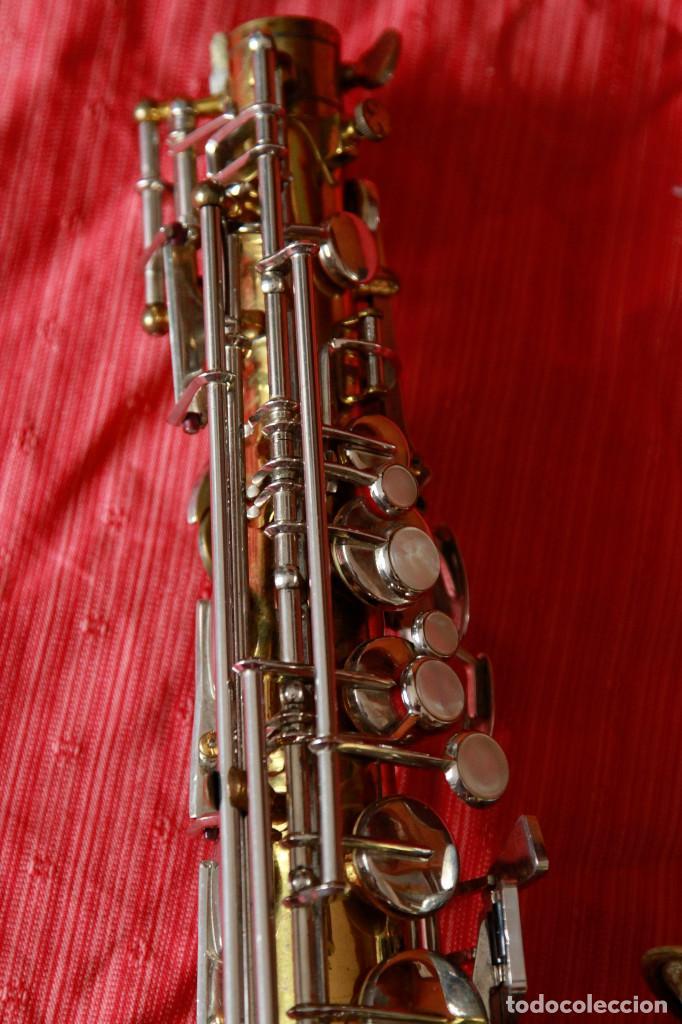 Instrumentos musicales: SAXOFON ALTO WELTKLAN - Foto 4 - 218561132