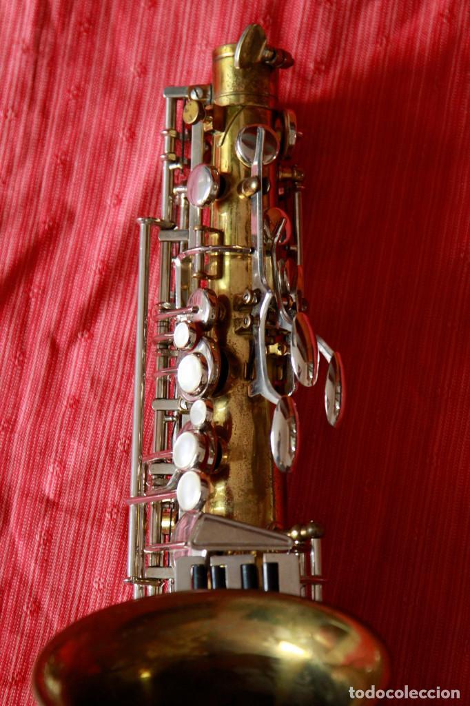 Instrumentos musicales: SAXOFON ALTO WELTKLAN - Foto 7 - 218561132