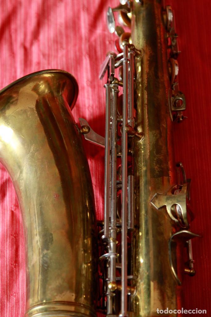 Instrumentos musicales: SAXOFON ALTO WELTKLAN - Foto 9 - 218561132