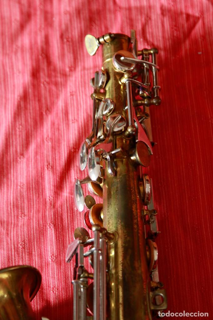 Instrumentos musicales: SAXOFON ALTO WELTKLAN - Foto 10 - 218561132