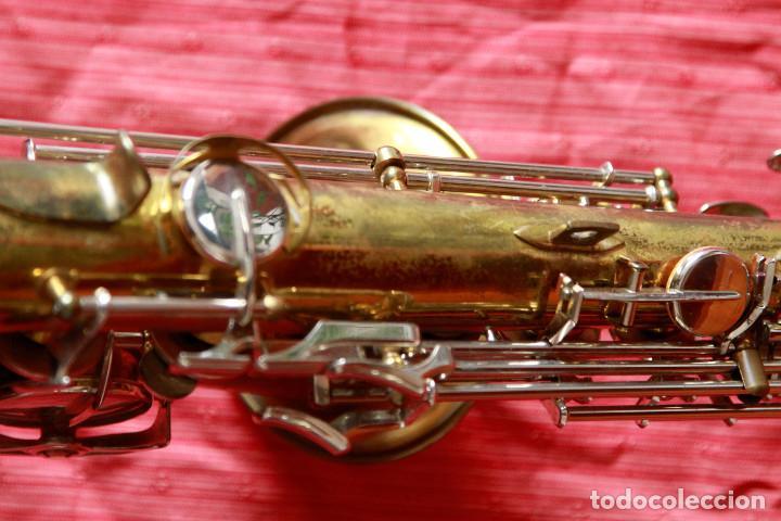 Instrumentos musicales: SAXOFON ALTO WELTKLAN - Foto 12 - 218561132