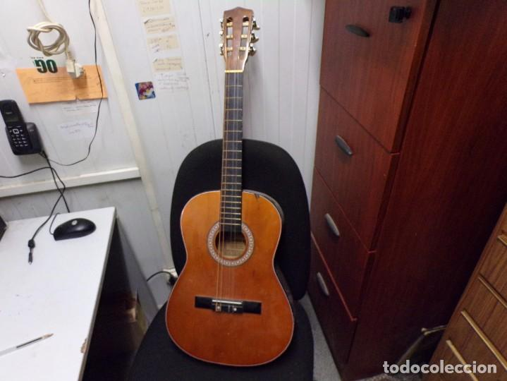 GUITARRA ESPAÑOLA MARCA SONORA (Música - Instrumentos Musicales - Guitarras Antiguas)