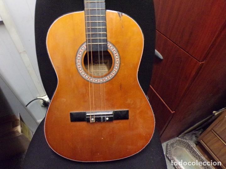 Instrumentos musicales: guitarra española marca sonora - Foto 2 - 218608883