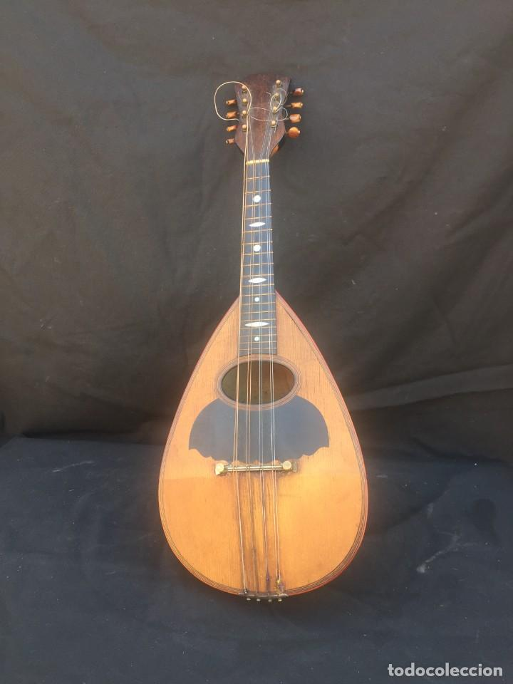 MANDOLINA ITALIANA (Música - Instrumentos Musicales - Cuerda Antiguos)