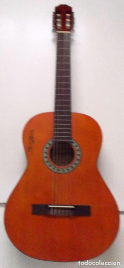 GUITARRA FIRMADA POR PACO CEPERO UN LUJO PARA UNO SOLO ES ÚNICA EN LA RED Y MAS (Música - Instrumentos Musicales - Guitarras Antiguas)