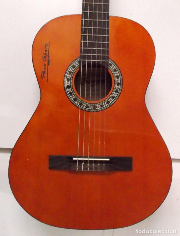 Instrumentos musicales: Guitarra Firmada por Paco Cepero un lujo para uno solo es única en la red y mas - Foto 2 - 218693958