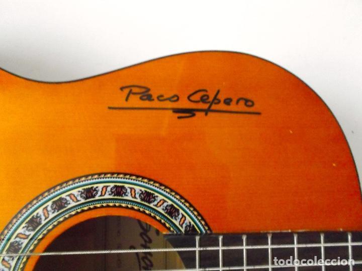 Instrumentos musicales: Guitarra Firmada por Paco Cepero un lujo para uno solo es única en la red y mas - Foto 4 - 218693958