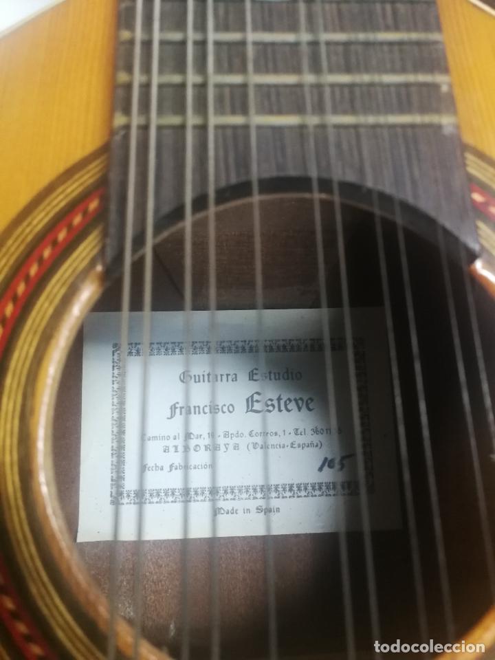 Instrumentos musicales: ANTIGUA BANDURRIA LAUD AÑOS 60 DE FRANCISCO ESTEVE VALENCIA, EN BUEN ESTADO - Foto 2 - 218713752