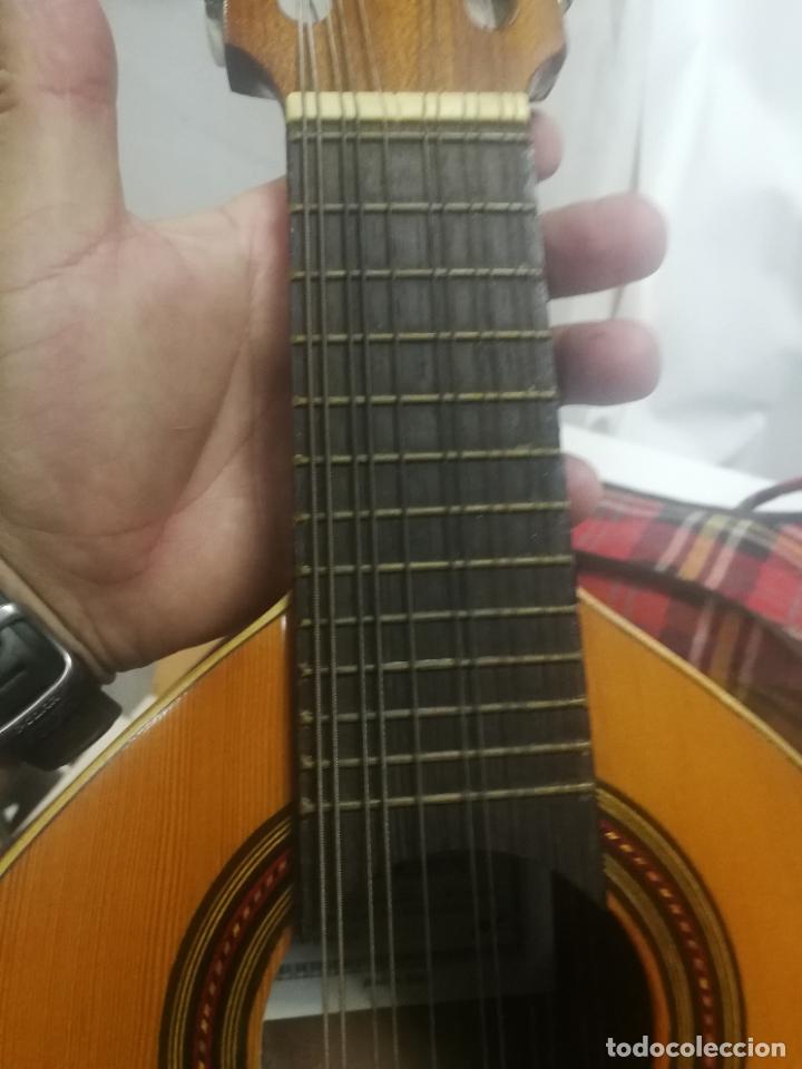 Instrumentos musicales: ANTIGUA BANDURRIA LAUD AÑOS 60 DE FRANCISCO ESTEVE VALENCIA, EN BUEN ESTADO - Foto 3 - 218713752
