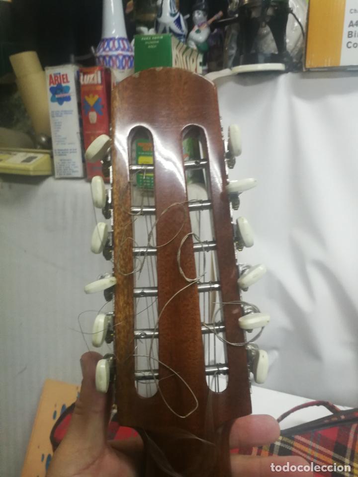 Instrumentos musicales: ANTIGUA BANDURRIA LAUD AÑOS 60 DE FRANCISCO ESTEVE VALENCIA, EN BUEN ESTADO - Foto 7 - 218713752