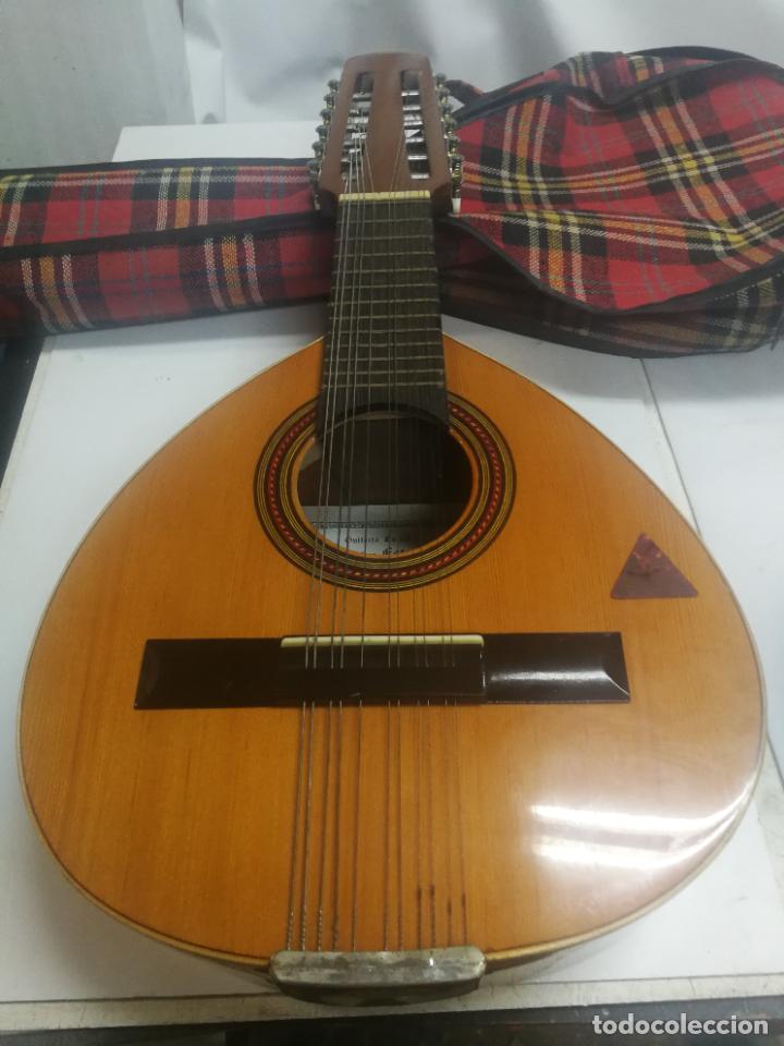 ANTIGUA BANDURRIA LAUD AÑOS 60 DE FRANCISCO ESTEVE VALENCIA, EN BUEN ESTADO (Música - Instrumentos Musicales - Guitarras Antiguas)