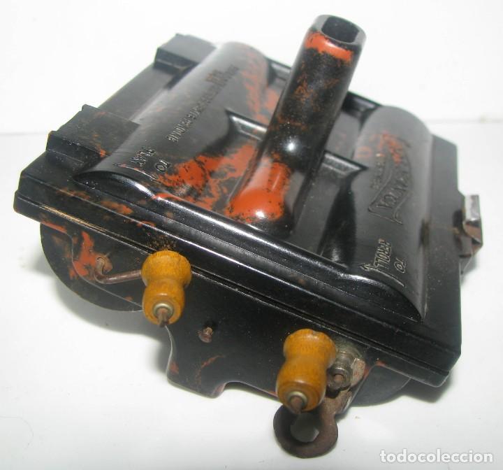 Instrumentos musicales: 969-ANTIGUA-ROLMONICA(armónica) EN BAKELITA CON 3 ROLLOS ,1928, RARÍSIMO Y CURIOSO OBJETO--FUNCIONA - Foto 3 - 218730328