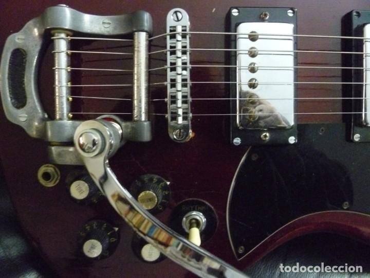 Instrumentos musicales: Guitarra SG Japón de los 70 Asco - Foto 5 - 218975608
