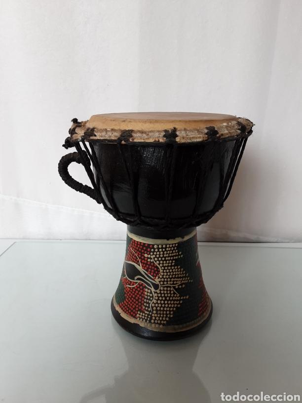 Instrumentos musicales: Bongo tambor etnico - Foto 2 - 219051165
