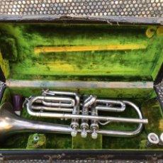 Instrumentos musicales: TROMPETA FRANK HOLTON. Lote 219075722