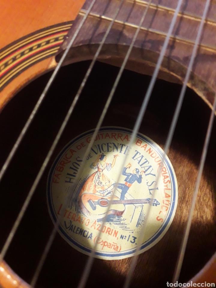 Instrumentos musicales: Guitarra Hijos de Vicente Tatay . - Foto 4 - 219103992