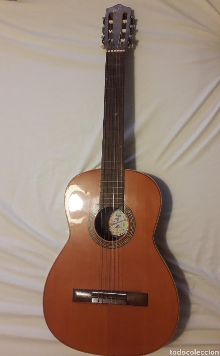 GUITARRA HIJOS DE VICENTE TATAY . (Música - Instrumentos Musicales - Guitarras Antiguas)