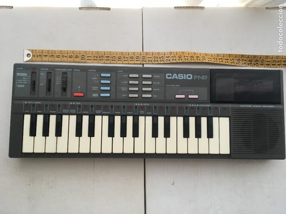 CASIO PT-87 PIANO ORGANILLO KREATEN TECLADO PT87 PT 87 (Música - Instrumentos Musicales - Teclados Eléctricos y Digitales)