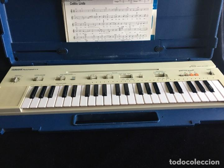 VINTAGE ORGANO YAMAHA PORTA SOUND PC-50 PLAY CARD KEYBOARD (Música - Instrumentos Musicales - Teclados Eléctricos y Digitales)