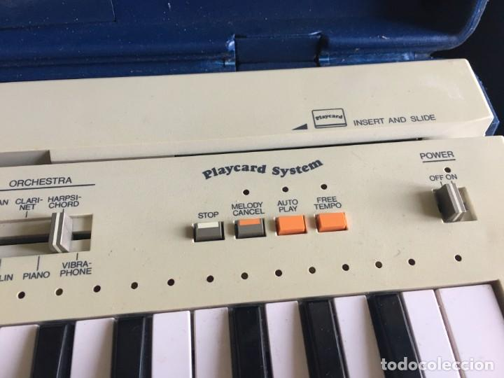 Instrumentos musicales: VINTAGE ORGANO YAMAHA PORTA SOUND PC-50 PLAY CARD KEYBOARD - Foto 5 - 219245331