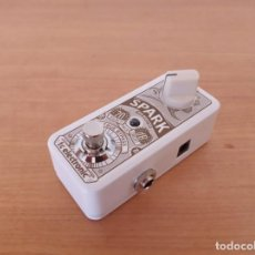 Instrumentos musicales: TC ELECTRONIC SPARK MINI BOOSTER - PEDAL GUITARRA. Lote 219377152