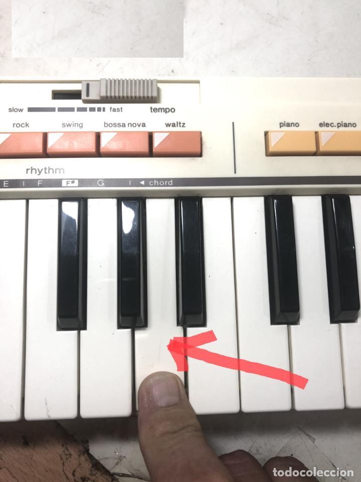 Instrumentos musicales: DIFICIL TECLADO ELECTRONICO - CASIO MT-35 JAPAN AÑOS 80 ¡¡FUNCIONANDO¡- CASIOTONE MT35 ORGANO PIANO - Foto 15 - 219378258