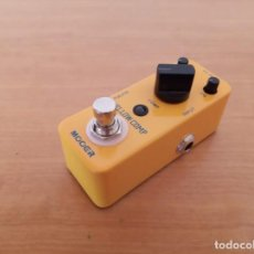 Instrumentos musicales: MOOER YELLOW COMP - PEDAL GUITARRA. Lote 219378743