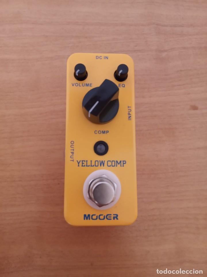 Instrumentos musicales: Mooer Yellow Comp - pedal guitarra - Foto 2 - 219378743
