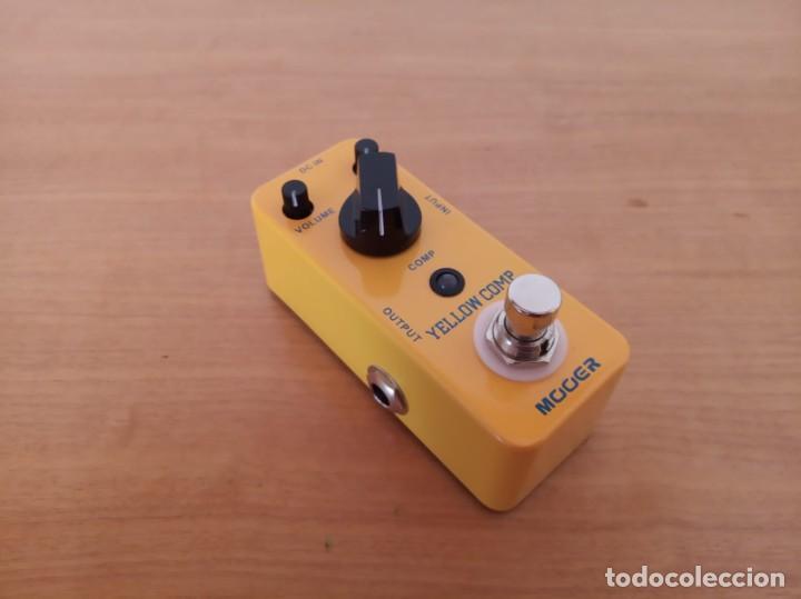 Instrumentos musicales: Mooer Yellow Comp - pedal guitarra - Foto 4 - 219378743