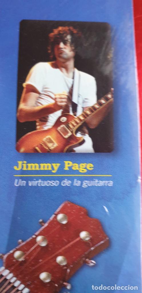 Instrumentos musicales: GUITARRA-COLECCIONISTA-JIMMY PAGE-TAMAÑO-VER FOTOS-COLECCIONABLE-SALVAT-CLASICO-SIN FASCICULO - Foto 3 - 219409887