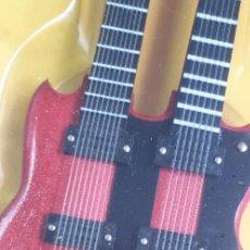 Instrumentos musicales: GUITARRA-COLECCIONISTA-JOHN MCLAUGHLIN-TAMAÑO-VER FOTOS-COLECCIONABLE-SALVAT-CLASICO-SIN FASCICULO. Lote 219410068