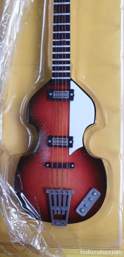 Instrumentos musicales: GUITARRA-COLECCIONISTA-PAUL MCCARTNEY-TAMAÑO-VER FOTOS-COLECCIONABLE-SALVAT-CLASICO-SIN FASCICULO - Foto 3 - 219410325