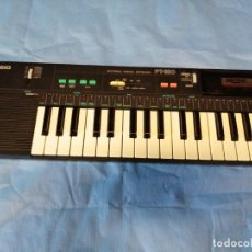 Instrumentos musicales: TECLADO CASIO PT-180. Lote 219640243