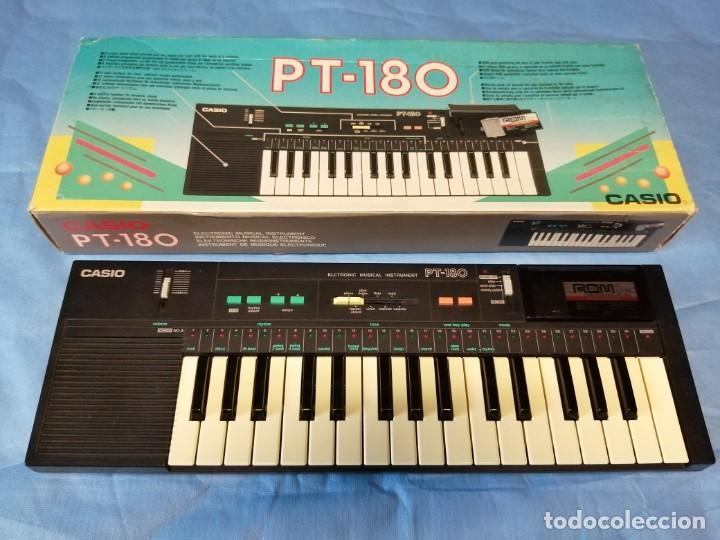 Instrumentos musicales: TECLADO CASIO PT-180 - Foto 2 - 219640243