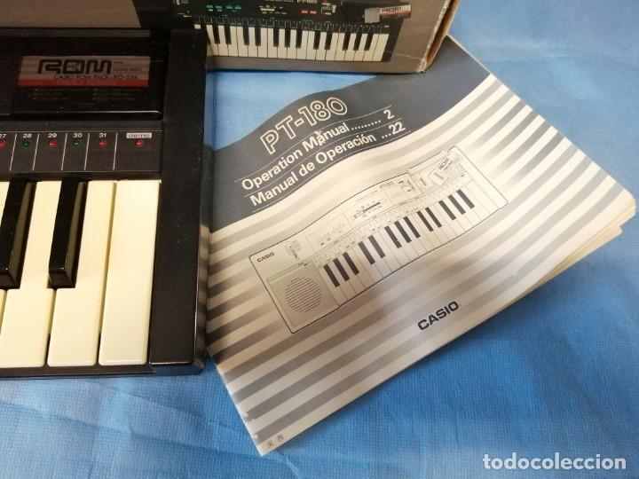 Instrumentos musicales: TECLADO CASIO PT-180 - Foto 3 - 219640243