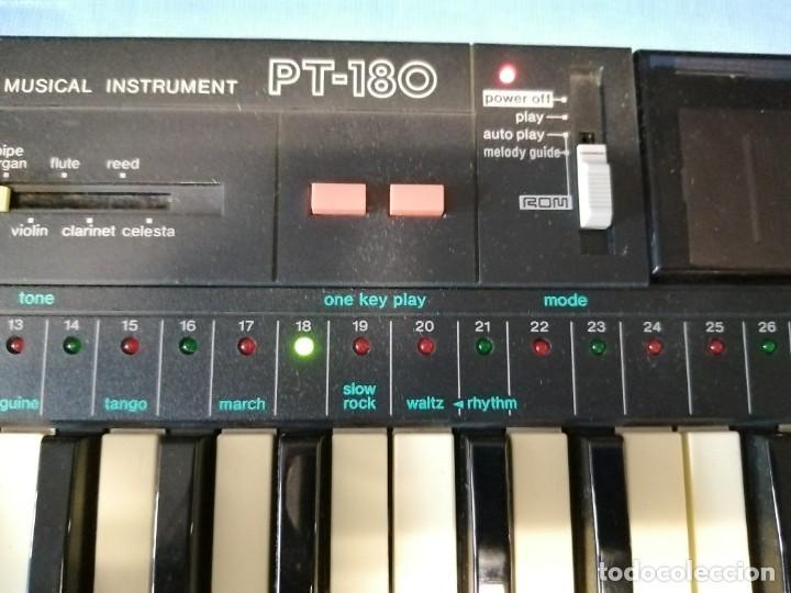 Instrumentos musicales: TECLADO CASIO PT-180 - Foto 6 - 219640243