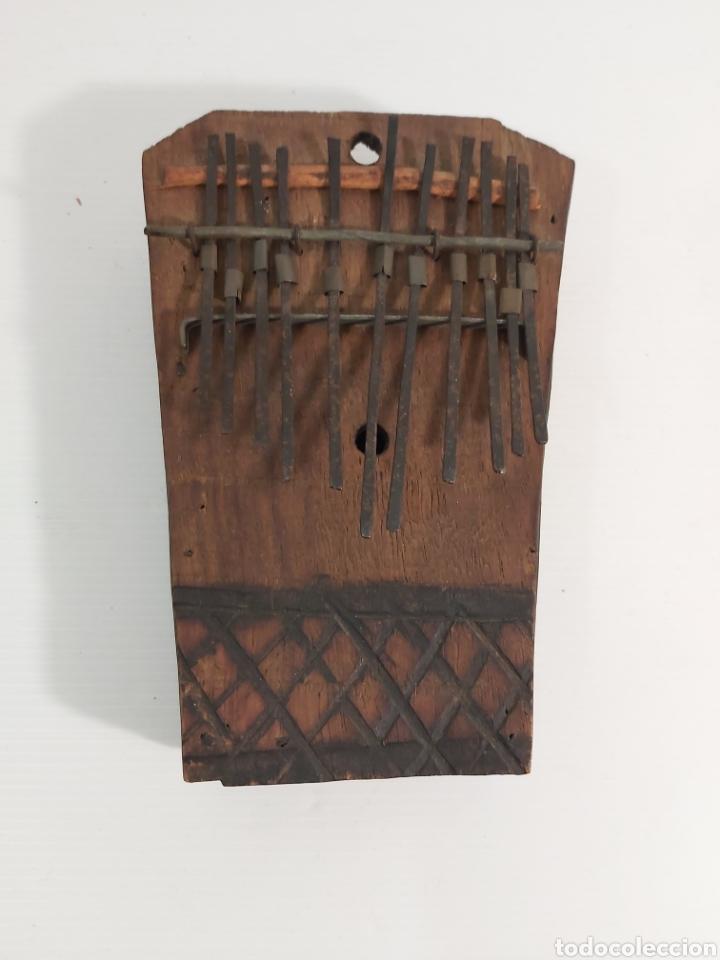 INSTRUMENTO MUSICAL AFRICANO SAMZA (Música - Instrumentos Musicales - Percusión)