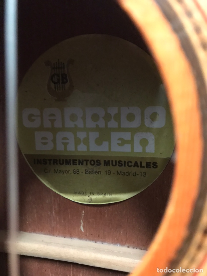 Instrumentos musicales: GUITARRA GARRIDO BAILÉN - Foto 4 - 219835586