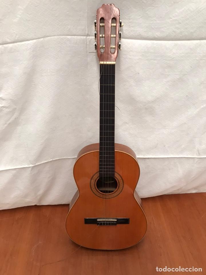 GUITARRA GARRIDO BAILÉN (Música - Instrumentos Musicales - Guitarras Antiguas)
